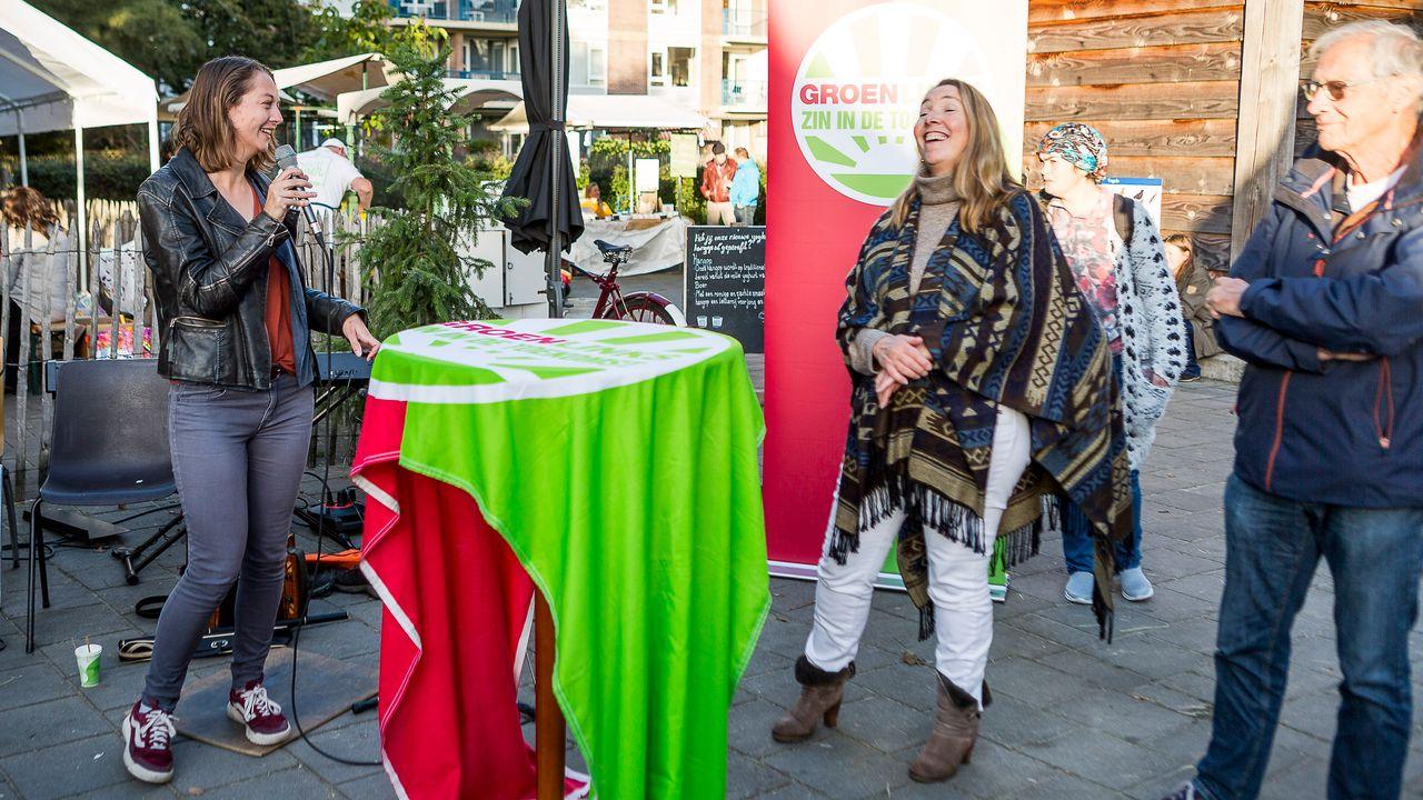 Voedselbank krijgt duurzaamheidsprijs GroenLinks De Bilt